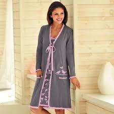 robes de chambre grandes tailles peignoir volanté imprimé coton ultra doux robe d interieur