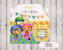 team umizoomi party supplies team umizoomi party package