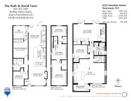 2252 Venables Street In Vancouver Floor Plans House Designs Special Floor Plans