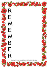 remembrance picture frame remembrance day worksheets