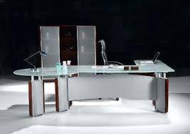 Small Contemporary Desks Modern Glass Desk Admirable Contemporary Desks Features Of A Small