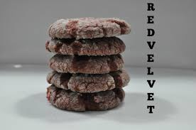 easy red velvet cake mix cookies youtube