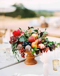 Decorative Fruit Bowl by 26 Wedding Centerpieces Bursting With Fruits And Vegetables