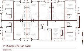 Jefferson Floor Plan by 144 South Jefferson Rd South Village