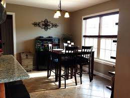 Kitchen And Dining Room Colors by Our Diy Updated Eat In Kitchen Area Sherwin Williams