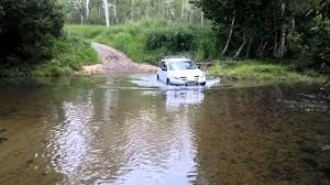 mitsubishi outlander off road my first off road by mitsubishi outlander youtube