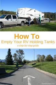 sanidumps instructions on how to empty your rv holding tanks