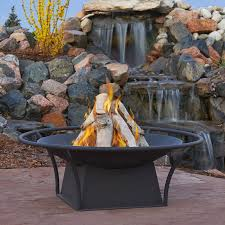 Real Flame Fire Pit - real flame parker wood burning fire bowl with free cover walmart com