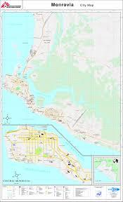 West Point Map Monrovia Liberia Map