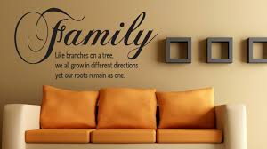 wall quote family like branches on a tree 20x30 zoom