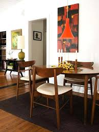 dining table oval dining tables mid century modern rooms round