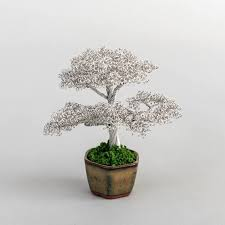 these metal bonsai trees stay beautiful forever martha stewart