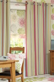 buy pink woven stripe eyelet curtains from the next uk online shop