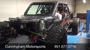 jeep sand rail raw motorsports custom sandrail dyno youtube