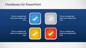 checkboxes template for powerpoint slidemodel