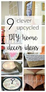 9 upcycled diy home decor ideas merry monday 140 store diy