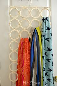 Creative Way To Hang Scarves by 5 Ways To Organize Scarves U2013 Hip2save