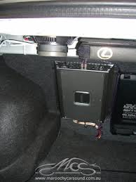 lexus is200 white lexus is200 cd radio bluetooth amplifier upgrade maroochy car sound