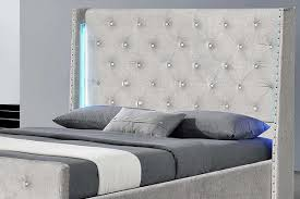 Upholstered Wall Mounted Headboards Bedroom Wall Mount Headboard Silver Headboard Wall Mounted