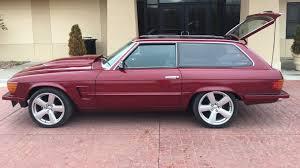 pink g wagon sweet 1979 merc 450sl shooting brake selling at no reserve