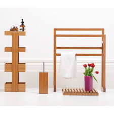 Wood Bathroom Accessories bathroom simple design free standing shower caddy for your