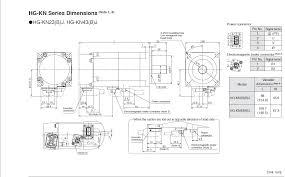 mitsubishi hg kn43bj servo motor price manual datasheet