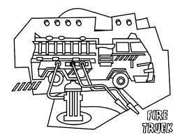 coloring pages kids trucks printable coloring sheet anbu
