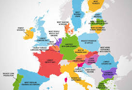 europe map by country what every european country is best at the best things about eu