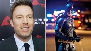 Ben Affleck Batman Meme - ben affleck on christian bale s batman advice make sure suit