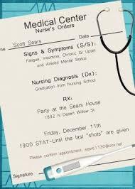 nursing school graduation invitations nursing graduation invitation