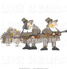 humorous thanksgiving images humorous clip art of hunting pilgrim women armed with turkey bird