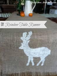 Christmas Reindeer Table Decor by 98 Best Diy Christmas Decor Stencil Ideas Images On Pinterest