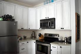 Alternative To Kitchen Cabinets Two Tone Painted Kitchen Cabinets Using White And Grey Color And