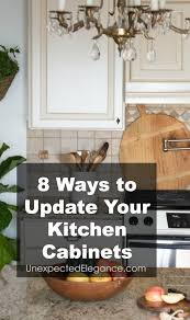 update kitchen cabinets 8 ways to update kitchen cabinets unexpected elegance