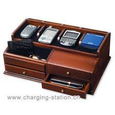 wooden charging station valet oak nightstand valet wooden phone