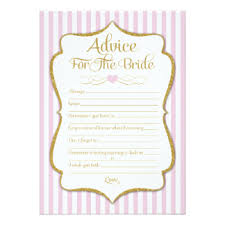 Words Of Wisdom Bridal Shower Game Advice Bridal Shower Cards Invitations Greeting U0026 Photo Cards
