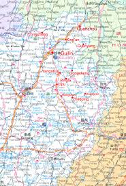 Guilin China Map by Guilin Maps For Cyclists