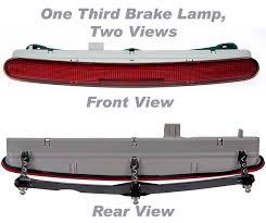 third brake light assembly amazon com apdty 034366 third 3rd center high mount brake light