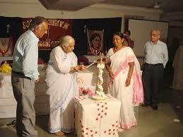 l lighting ceremony at s v college of nursing sadhu vaswani