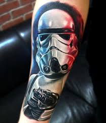 stormtrooper tattoo by jordan croke movies tattoos pinterest