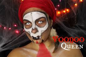 voodoo queen halloween makeup tutorial youtube
