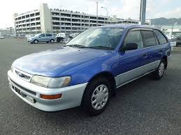 year toyota corolla used toyota corolla wagon 2000 year for sale recent shipped