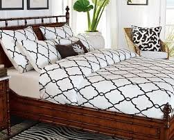 Williams Sonoma Bedding And White Iron Gate Crewel Duvet Cover And Shams