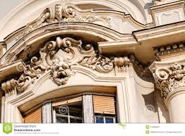 facade on classical building stock photo image 41590602