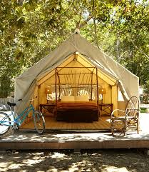 Tent In Backyard by How To Go Glamping In Your Own Backyard