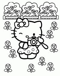 hello kitty coloring pages u2013 birthday printable