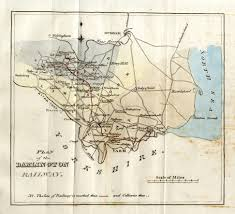 England Train Map by Stockton And Darlington Railway Wikipedia