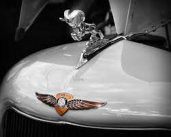 1935 dodge brothers ram ornament photograph by