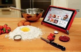 tablette recette de cuisine qooq une tablette tactile à l épreuve de la cuisine mon cuisinier