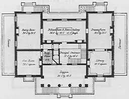 Mansion Home Floor Plans English Mansion House Plans From The 1800s House Plan